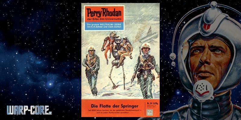 [Perry Rhodan 29] Die Flotte der Springer