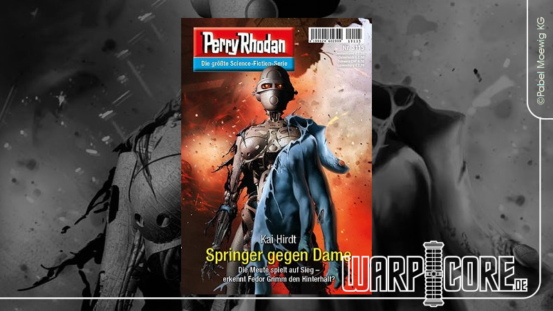 Review: Perry Rhodan 3115 – Springer gegen Dame