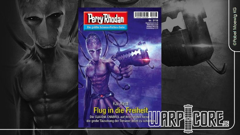 Review: Perry Rhodan 3116 – Flug in die Freiheit
