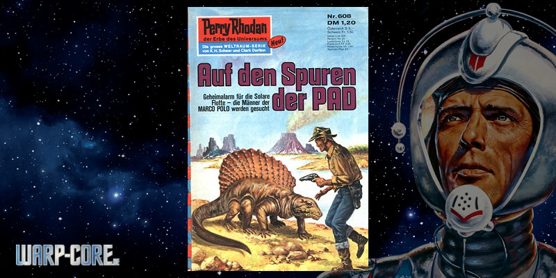 Review: Perry Rhodan 608 – Auf den Spuren der PAD