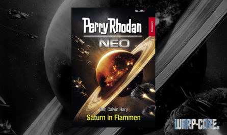 Saturn in Flammen