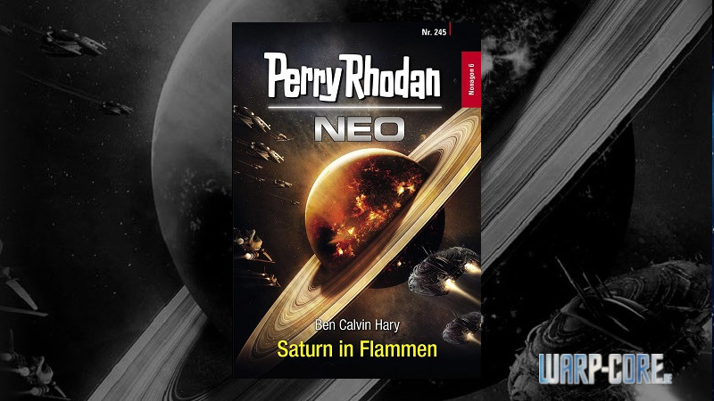 [Review] Perry Rhodan NEO 245 – Saturn in Flammen