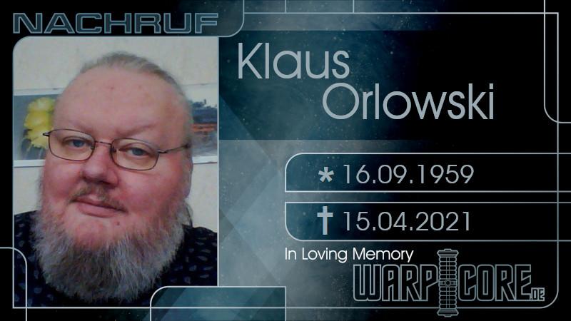 Nachruf: Klaus Orlowski