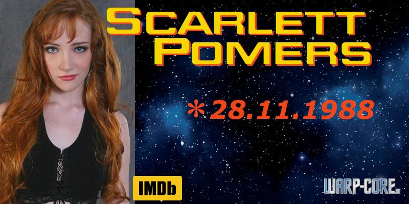 Spotlight: Scarlett Pomers