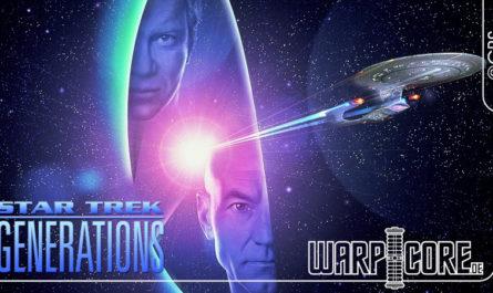 Star Trek Treffen der Generationen