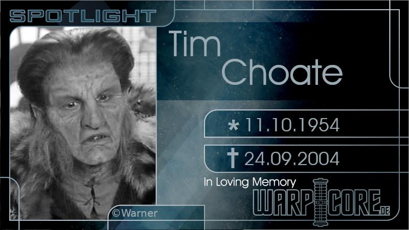Spotlight: Tim Choate