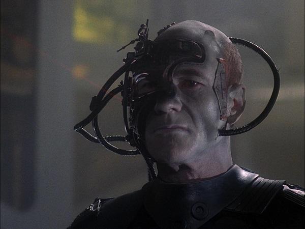 In den Händen der Borg Angriffsziel Erde
