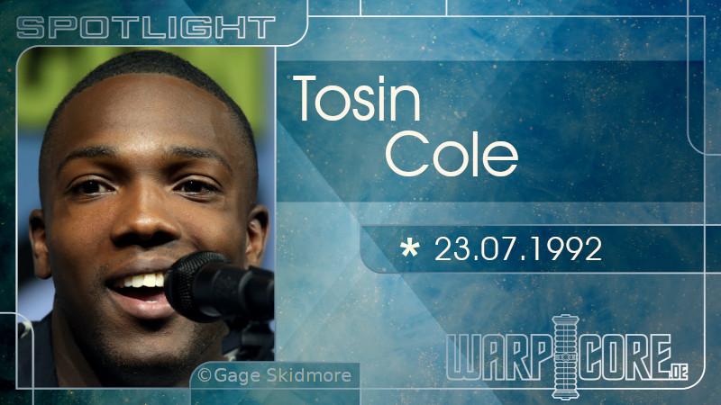 Spotlight: Tosin Cole
