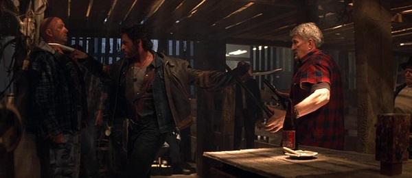 X-Men Wolverine in Kneipenschlägerei
